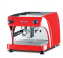 Ruby Pro 1 Group Electronic Coffee Machine - red